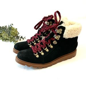 Sorel Ainsley Conquest Boot Black Size 6.5